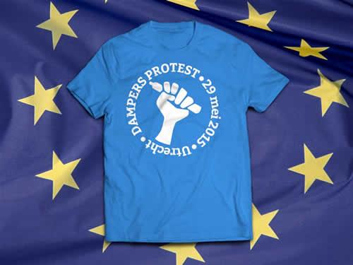 T shirt protest 29 mei