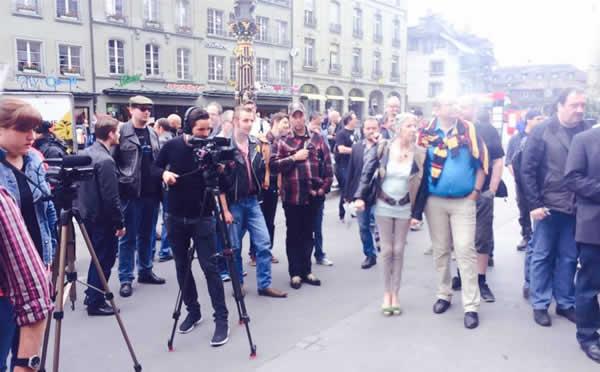 Zwitserland-ondersteunend-dampersprotest